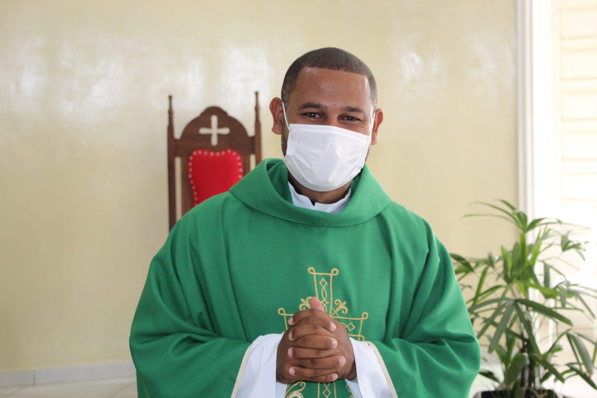 Acolhida do Padre Edmilson na Paróquia São José Operário - 07/02/2021