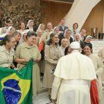 """O Papa: """"A santidade vem do Espírito Santo, é a gratuidade da redenção de Jesus"""""""