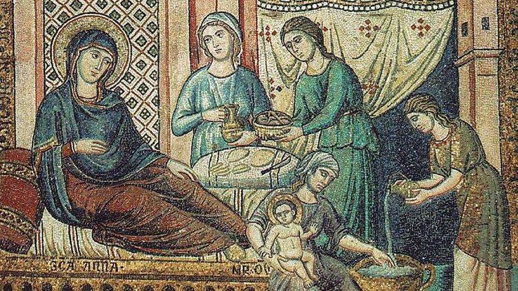 Natividade de Maria, no Santuário de Loreto acesa a lâmpada da paz